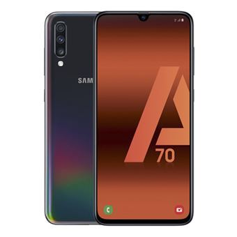 Samsung Galaxy A70 6,7'' 128GB Negro