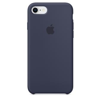 Funda Apple Silicone Case Azul noche para iPhone 7/8