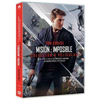 Pack colección Misión Imposible - 6 películas - DVD