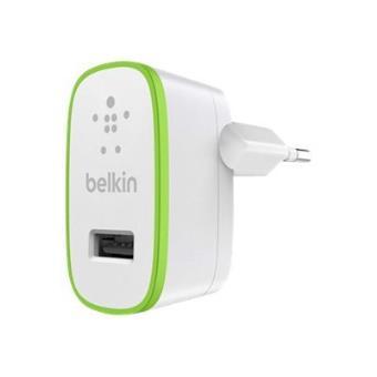 Belkin Cargador Universal Usb Home Charger 2,4A - Color blanco