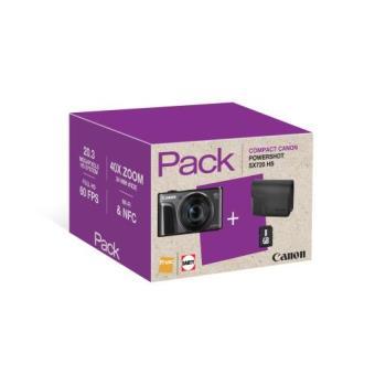 Cámara compacta Canon Powershot SX720 negro pack