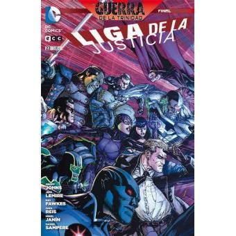 Liga de la Justicia núm. 22 Grapa