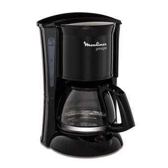 Cafetera de goteo Moulinex Principio 6 tazas Negro