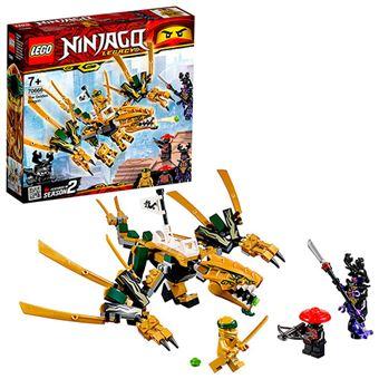 LEGO Ninjago 70666 Dragón Dorado