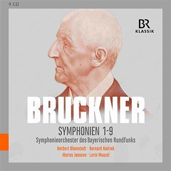 Anton Buckner - Symphonien 1-9 - 9 CD