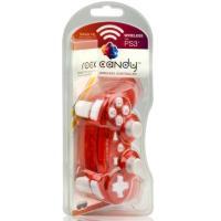 Mando PDP Wireless Rock Candy Rojo PS3