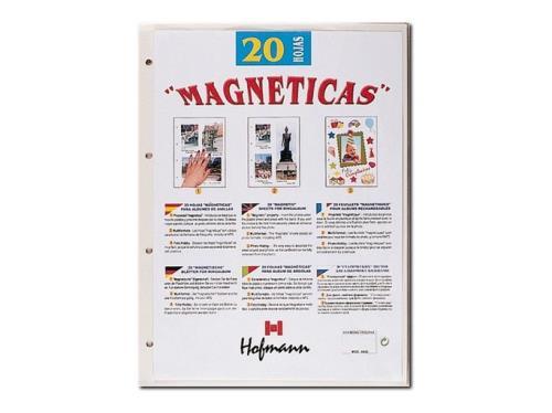 Hofmann Pack de 20 hojas magnéticas