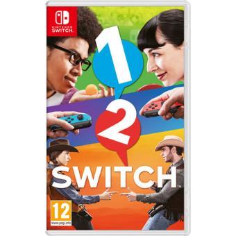 1 2 Switch Nintendo Switch Para Los Mejores Videojuegos Fnac