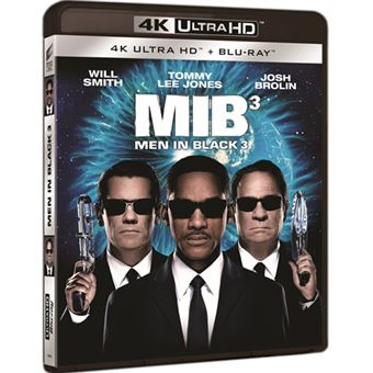 Men in Black 3 - UHD + Blu-Ray