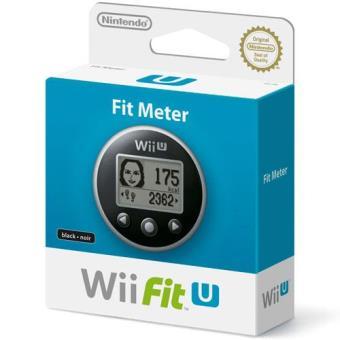 Wii Fit U Meter Color Negro Wii U