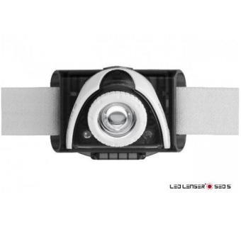 Led Lenser Linterna Frontal Seo 5 Gris