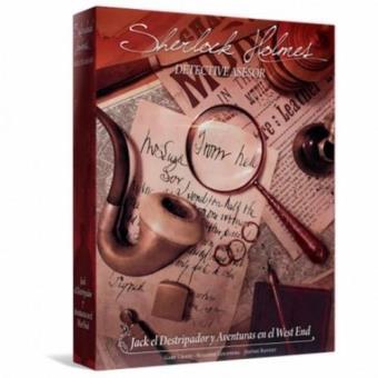 Sherlock Holmes: Jack el Destripador y Aventuras en el West End. Tablero