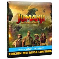 Jumanji. Bienvenidos a la jungla - Steelbook Blu-Ray + 3D