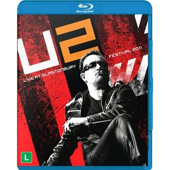 U2 - Live At Glastonbury 2011 - Blu-Ray