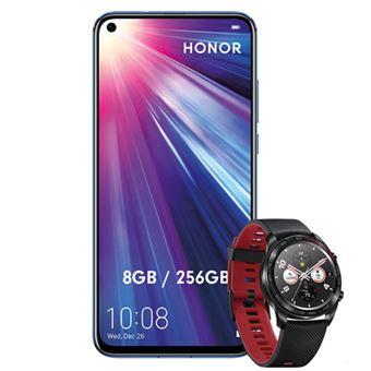 Honor View 20 6,4'' 256 GB Phantom Blue + Smartwatch Honor Watch Magic