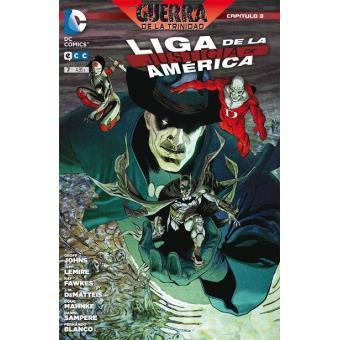 Liga de la Justicia de América núm. 07 Grapa