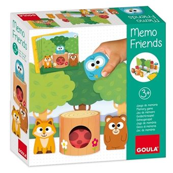 Memo friends - Animales de madera