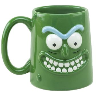 Taza 3D - Rick & Morty
