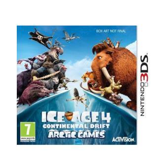 Ice Age 4: La formación de los continentes: Juegos en el Ártico 3DS