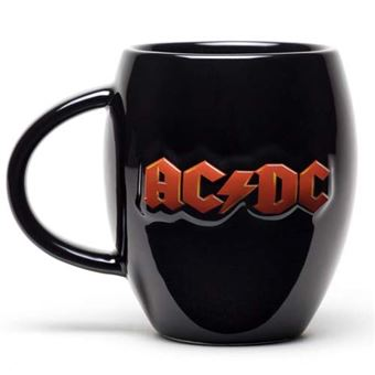 Taza ovalada AC/DC - Logo