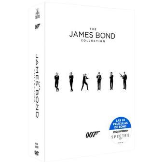 Colección completa James Bond 007 - DVD