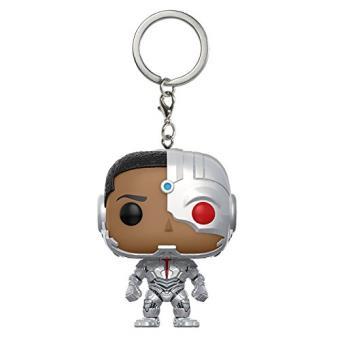 Llavero Funko DC Liga de la Justicia - Cyborg