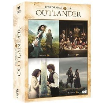 Outlander - Temporada 1-4 - DVD