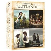 Outlander  Temporada 1-4 - DVD