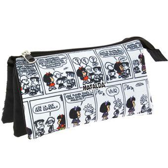 Portatodo triple Mafalda Cómic