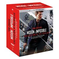 Pack colección Misión Imposible - 6 películas - UHD + Blu-Ray