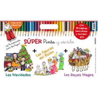 Súper pinta y escribe las Navidades 2