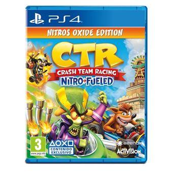 Crash™ Team Racing Nitro-Fueled - Edición Nitros Oxide - PS4