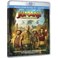 Jumanji. Bienvenidos a la jungla - 3D + Blu-Ray