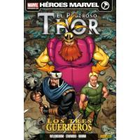 El poderoso Thor. Los tres guerreros. Héroes Marvel