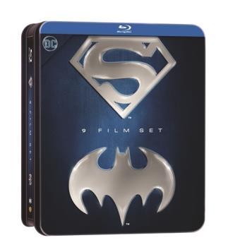 Antología Batman Superman - Steelbook Blu-Ray