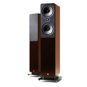 Q Acoustics 2050 Walnut Altavoces de Suelo