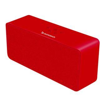 Altavoz Bluetooth Sunstech SPUBT780 Rojo