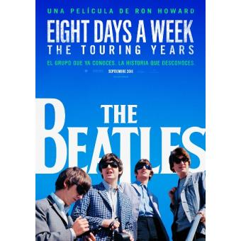 The Beatles: Eight Days a Week - The Touring Years -  Ed Especial Deluxe 2 Blu-Ray + Libreto 64 pág.