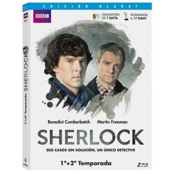 Pack Sherlock - Temporadas 1 y 2 - Blu-Ray