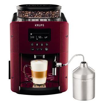 Cafetera Superautomática Krups Pisa EA8165 Rojo