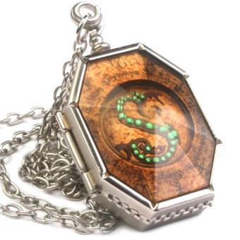 Colgante Harry Potter - Guardapelo de Salazar Slytherin