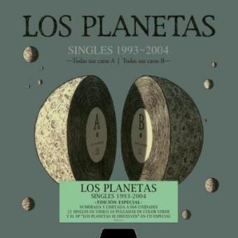 Box Set Los Planetas: Singles 1993-2004 - Vinilo