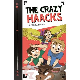 The Crazy Haacks y el reto del minotauro (Serie The Crazy Haacks 6)