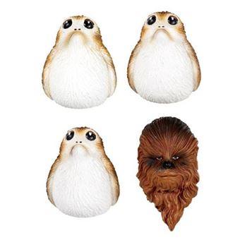 Set Imanes Star Wars - Chewbacca & Porgs