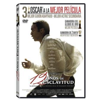 12 años de esclavitud - DVD