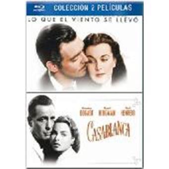Pack Casablanca + Lo que el viento se llevó - Blu-Ray