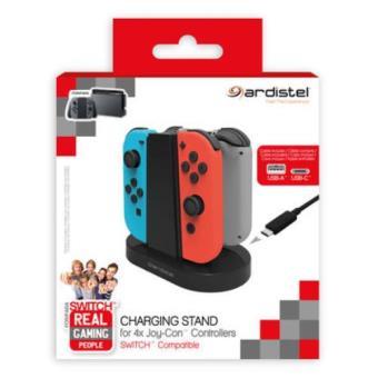 Ardistel  Base de carga para mandos Joy-con Nintendo Switch