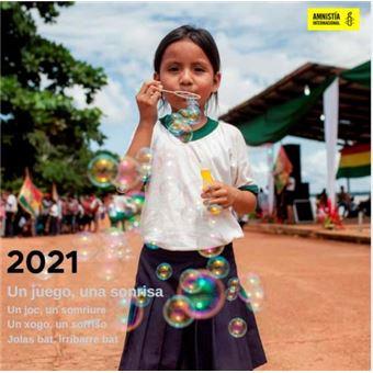 Calendario de pared 2021 Amnistía Internacional