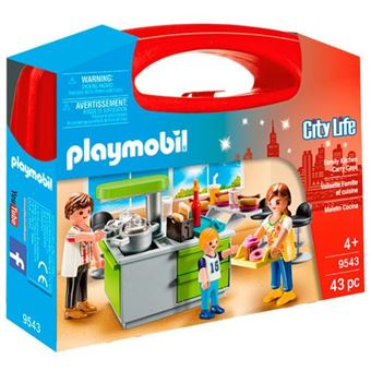 Playmobil City Life Maletín cocina