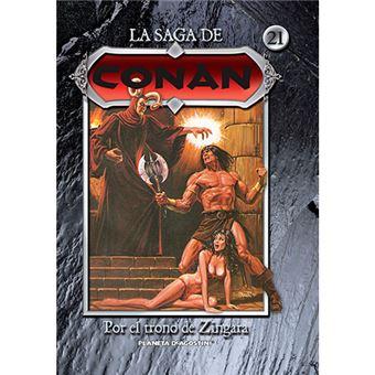 La saga de Conan 21 - Por el trono de Zingara